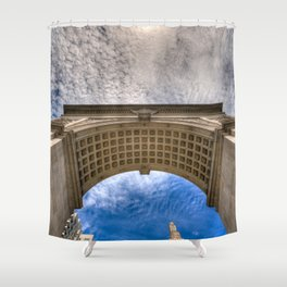 Arch In The Square Shower Curtain