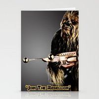 chewbacca Stationery Cards featuring Chewbacca by KL Design Solutions
