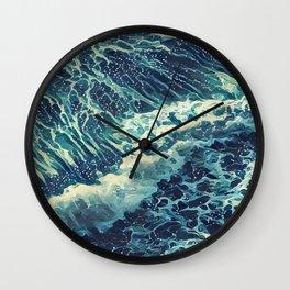 Every tide hath its ebb Wall Clock