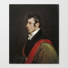 Samuel Finley Breese Morse - Samuel F. B. Morse Self-Portrait Canvas Print