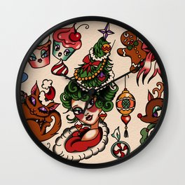 Holidaze Wall Clock