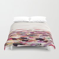 river Duvet Covers featuring River by Georgiana Paraschiv