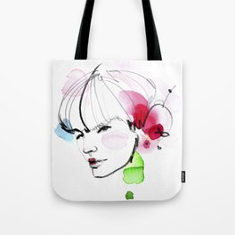 bloomy March Tote Bag