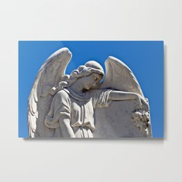 White Angel on the Isle of Sicily Metal Print