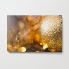 Golden Cheer II Metal Print