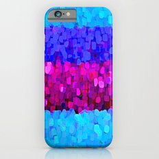 Sparkle Glitter Blue and Pink Slim Case iPhone 6