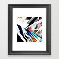 Light Archs Run Framed Art Print