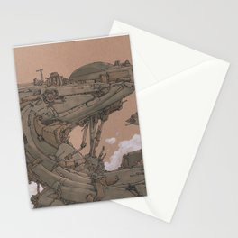 Aerial Station One Stationery Cards