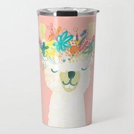 Llama Goddess Travel Mug