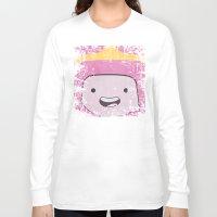 princess bubblegum Long Sleeve T-shirts featuring Princess Bubblegum by Some_Designs
