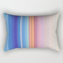 STRIPE RAINBOW Rectangular Pillow