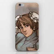 Chun Li iPhone & iPod Skin