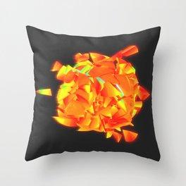 Sun Explosion Throw Pillow