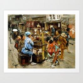 Robert Frederick Blum The Ameya Art Print