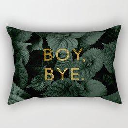 Boy, Bye - Vertical Rectangular Pillow