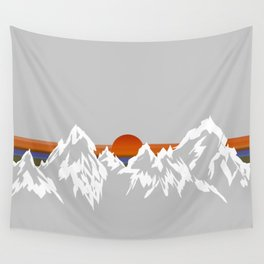 Sunset in the Appalachian Mountains Wall Tapestry