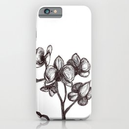 Orchid-Love -alone iPhone Case