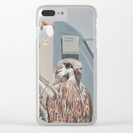 Peregrine Falcon and Kestrels Clear iPhone Case