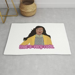 That's Very Rude Rug