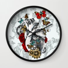 Minute by Minute Color Wall Clock