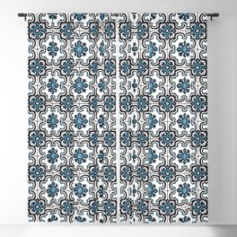 Floor Series: Peranakan Tiles 35 Blackout Curtain