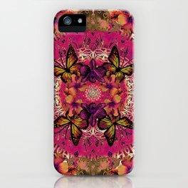 Victoria Mandala Collage iPhone Case
