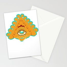 All Seeing Eye Gal Stationery Cards