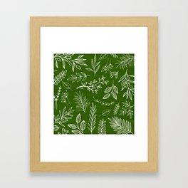 Emerald Forest Framed Art Print