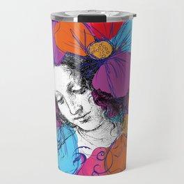 The encounter between Renaissance and Pop Art Travel Mug