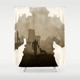 Fallout 4 (II) Shower Curtain