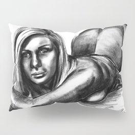 Swimsuit Girl Pillow Sham