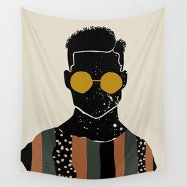 Black Hair No. 7 Wall Tapestry