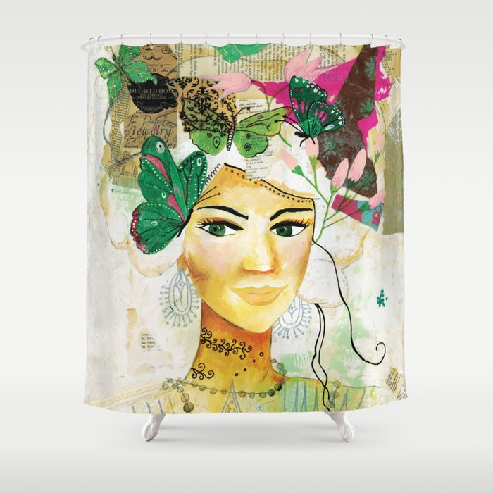 Spirited Shower Curtain