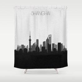 City Skylines: Shanghai Shower Curtain
