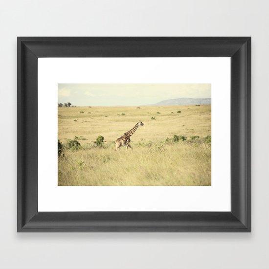 journey::kenya Framed Art Print