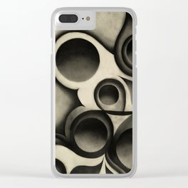 The Plain Beech Bauls Clear iPhone Case