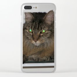 Precious Zoe-kins Clear iPhone Case