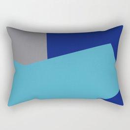 Minimalism Abstract Colors #2 Rectangular Pillow