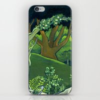 giants iPhone & iPod Skins featuring Fallen Giants by Patricia Howitt