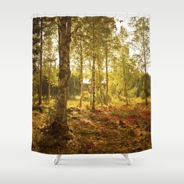 Forrest in the Fall Shower Curtain