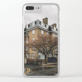 Early Spring in Shoreditch London Clear iPhone Case