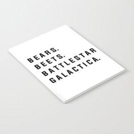 Bears Beets Battlestar Galactica - the Office Notebook