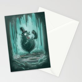 Goblins Drool, Fairies Rule - Gobble T. Goop Stationery Cards