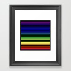 Blinds Framed Art Print