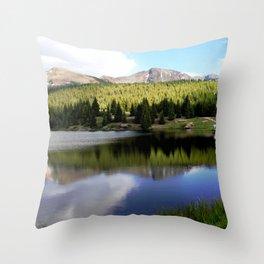 Andrews Lake, elevation 10,744 feet Throw Pillow