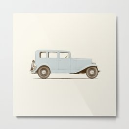 Car of the 1930's Metal Print