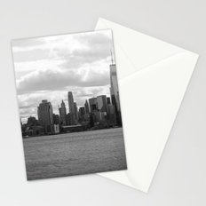 New York Cityscape B&W Stationery Cards