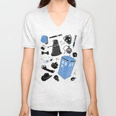 Artifacts: Doctor Who Unisex V-Neck