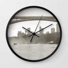 Niagara photography Wall Clock