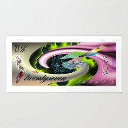 """"""" A House through a Black Hole """" Art Print"""